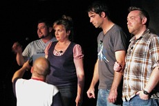 Improv comedy troupe, the Suggestibles