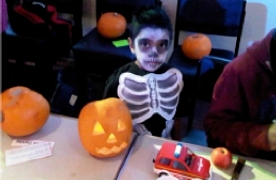 A scare-free Halloween at JMC