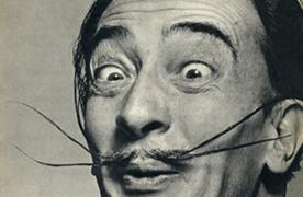 Sport a fine Dali-esque 'tache this Movember