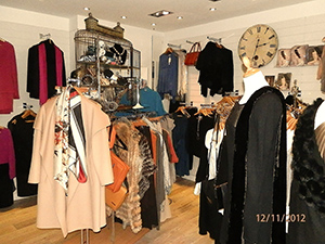 Inside the Sara Macleod Boutique, Jesmond