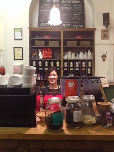 Ashna, Manager of Cafe 1901 Jesmond