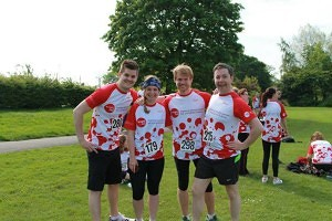 A JesmondLocal team at last year's event.